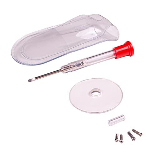 Apex Glasses Repair Kit - Eyeglass Repair Kit with Small Screwdriver ,Eyeglass Screws, Magnifying Glass, Screw Guide, & Storage Pouch - Universal Eyeglass Repair Kit for Reading Glasses, & Sunglasses