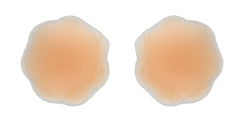 Fashion First Aid Accessories Fashion First Aid: Nipplomats: Brustwarzen-Abdeckungen Nippel-Abdecker aus Silikon Wiederverwendbar 1 Paar für Helle Haut