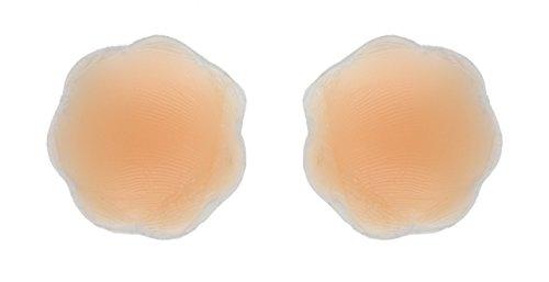 Fashion First Aid FASHION FIRST AID: Nipplomats: Brustwarzen-Abdeckungen Nippel-Abdecker aus Silikon Wiederverwendbar 1 Paar für Helle Haut