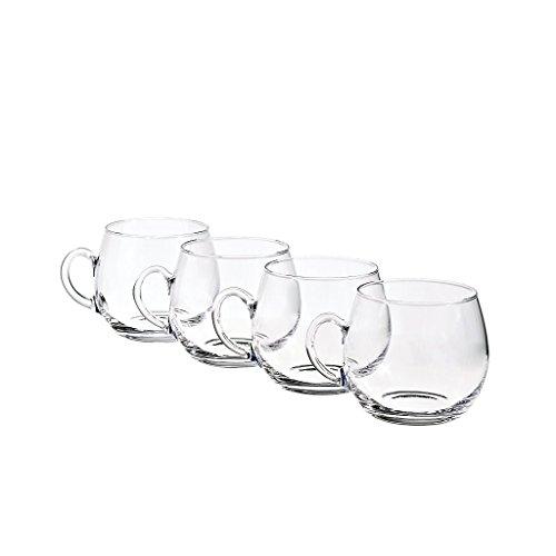 Cristalica -  4er Set Bowleglas