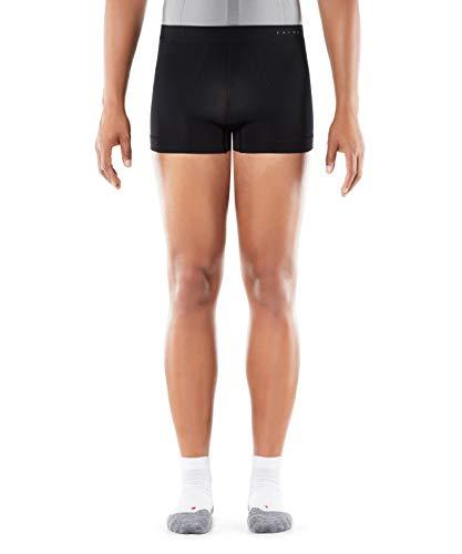 FALKE Herren Boxer Cool, Boxershorts aus Funktionsfaser, Unterhose atmungsaktiv, 1 er Pack, Schwarz (Black 3000), Medium
