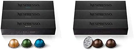 Nespresso Capsules VertuoLine, Variety Pack, Medium and Dark Roast Coffee, 30 Count Coffee Pods, Brews 7.8 oz