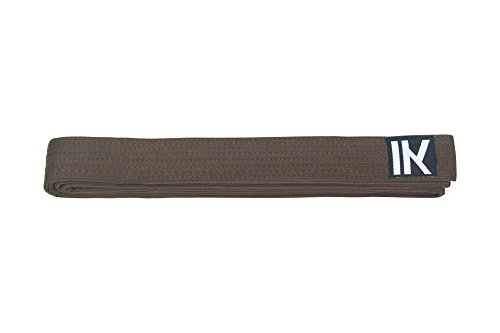 Cinturones de Karate, Judo, Taekwondo, todos los colores, alta calidad, 100% algodón, color marrón, tamaño 220 cm