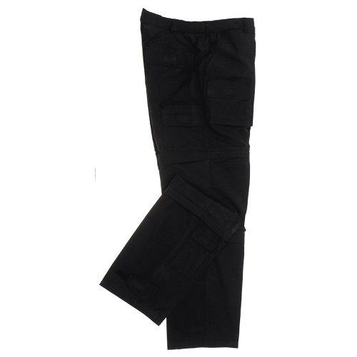 pantalon multifonctionnel, microfibre, Couleur:Schwarz;Taille:XL
