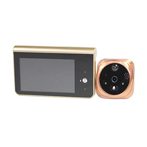 4,3 Inch Remote Monitoring Kijkgaatje Camera Wide Angle Camera Deurbel Night Vision For Home Security System