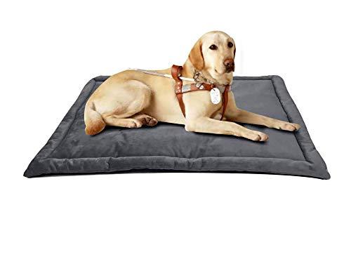 La cama del perro, la placa premium a prueba de agua, la almohadilla de la caja de la cama de la cama de la pelusa de lujo facilita las cubiertas lavables de la artritis para mascotas para un perro gr