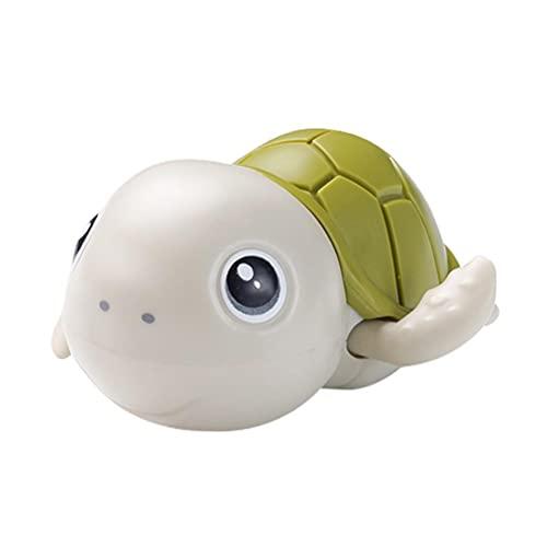 J-ouuo - Giocattoli da bagno per bambini, a forma di tartaruga, per nuotare e giocare a biliardo