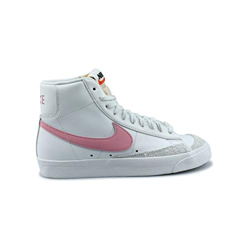 Nike W Blazer Mid '77, Zapatillas de bsquetbol Mujer, Summit White Sunset Pulse, 36 EU