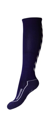 Hummel Uni Socken Advanced Long Indoor, purple parachute/white, 32 - 35, 21-059-3641