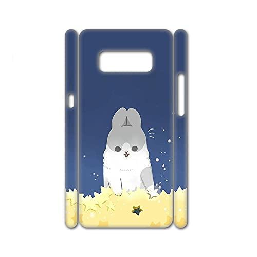 Generic Custodie per Pc Compatibile per Samsung Galaxy S10Plus Bellezza Stampare Rabbit Child