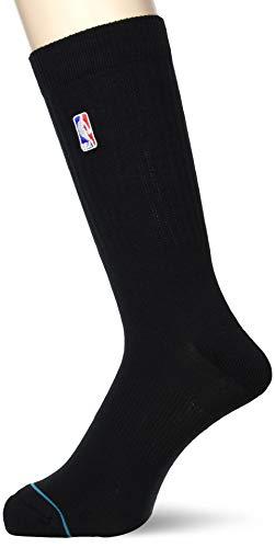 Stance NBA Logoman Crew II Calcetines, negro, large para