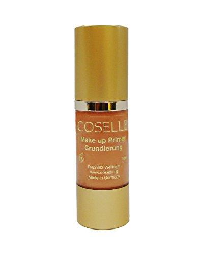 Coselle Make-up Primer Grundierung für eine perfekte Make-up Grundlage, ohne Parabene und mit Vitamin E-Acetate,höchste Qualität, ohne Tierversuche, Made in Germany!