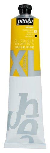 Pébéo - Huile Fine XL 200 ML - Peinture à l'Huile Or Riche – Peinture à l'Huile Pébéo - Or Riche 200 ml