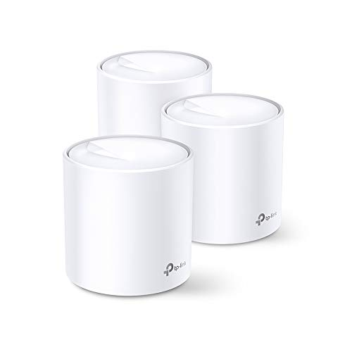 TP-Link Deco 3-5 bedrooms + AX1600 WiFi 6 | 3 Pack