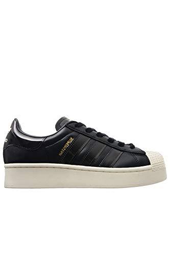 adidas Superstar Bold W - Zapatillas deportivas para mujer, color negro, 38 2/3