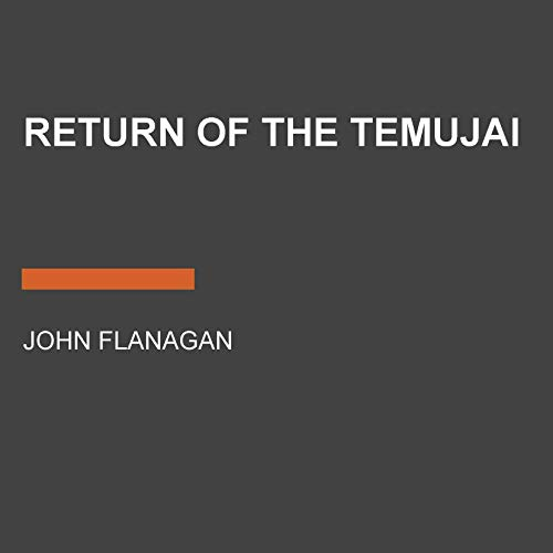 Return of the Temujai audiobook cover art