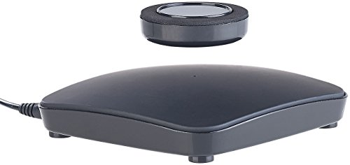 infactory Schwebe Plattform: Freischwebender Präsentationsteller mit Magnet-Schwebebasis, bis 200 g (Magnetschwebe Plattform)