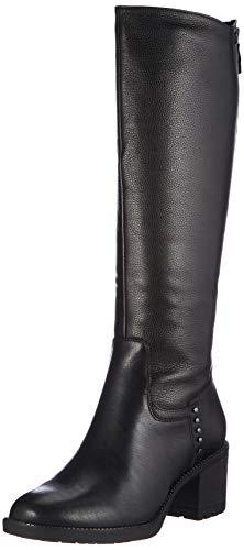 Tamaris Damen 1-1-25604-25 Kniehohe Stiefel, schwarz, 40 EU