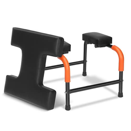 Kadimendium Silla de Yoga Multifuncional, fácil de Usar, Soporte Suave, Silla de Yoga, Soporte para la Cabeza de Yoga, Banco, Taburete de Yoga para Gimnasio Familiar