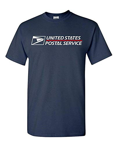 Post Office T-Shirt Postal United States Service Eagle T-Shirt (Navy Blue, XL)