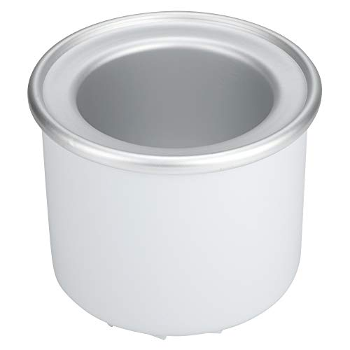 Ice Cream Freezer Bowl, Ice Cream Maker Liner, Stainless Steel Coffee Shop for Home Ice Cream Machine Office