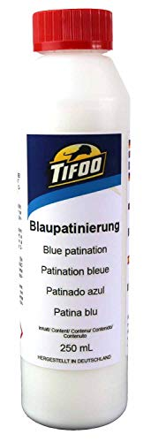 Blaupatinierung, Kupfer, Bronze, Messing patinieren, Patina 250 mL