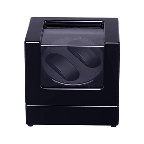 ZCXBHD Caja Giratoria for Reloj for Automático Doble Relojes Súper Tranquilo Japonés Motor Y Joyería Almacenamiento
