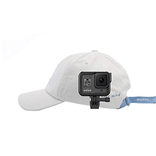TELESIN Muta-funzionale universale Clip di zaino fibbia a rilascio rapido, Clip di zaino da 360 gradi, Clip di cappello in vasetto (Cappello Clip)