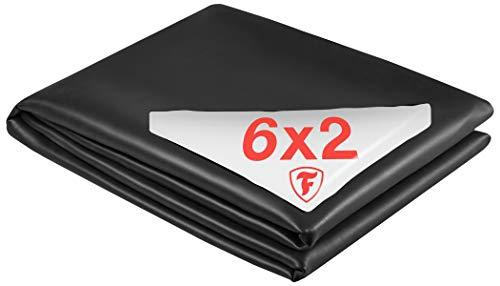 Firestone Teichfolie PondGard EPDM - vulkanisiert schwarz 1 mm - für professionelle Anwendungen - Zuschnitt 6,10 x 2 m