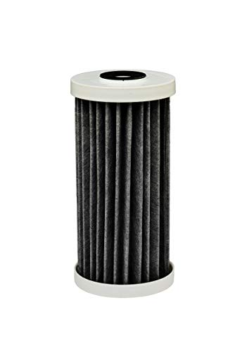 EcoPure EPW4F Premium FACT Universal Innovative Product-Better Filtration and Longer Life Versus Most Whole Home Water Filters, Small, Black/White