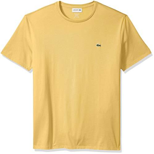 Lacoste Men's Short Sleeve Crew Neck Pima Cotton Jersey T-shirt, dana, 3XL