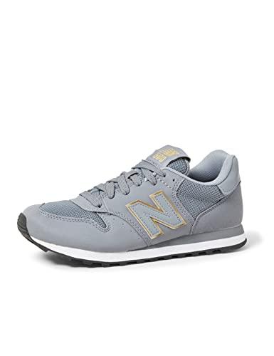 New Balance 500 Core, Zapatillas Mujer, Gris (Grey/Pink Gkg), 39 EU