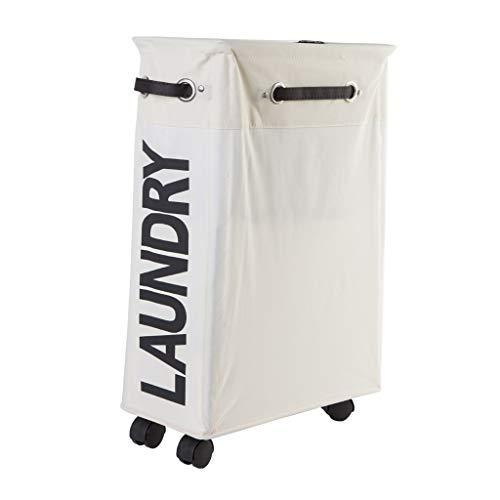 Foldable Laundry Basket Fabric Laundry Bag Large Laundry Basket Aluminum Bracket Gray Brown Household Bathroom Color  White