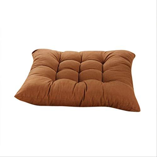 NoNo Seat Seat Stoelkussen Duurzame elasticiteit voor thuis zitkussen voor eetkamer tuin terras Home keuken kantoorkussen mat 45x45cm Lichte koffie.