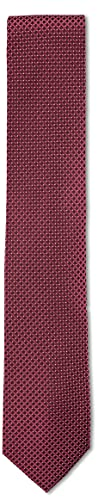 Roy Robson Herren Elegante 100% Seide 7,5 cm Business Krawatte, Rot 959