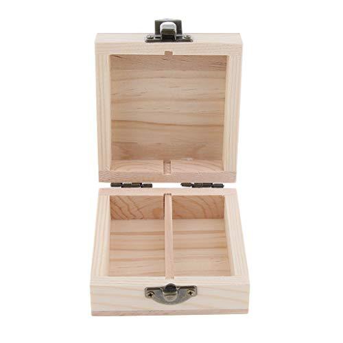 Fenteer Flacons Parfum Présentoir d'huile essentielle Décoration maison - 7.7x8.2x3.8 cm 15 ml
