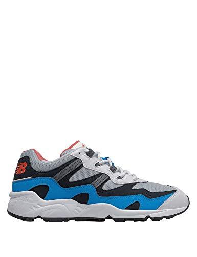 New Balance ML850YEU, Trail Running Shoe Hombre, Azul Blanco, 32 EU