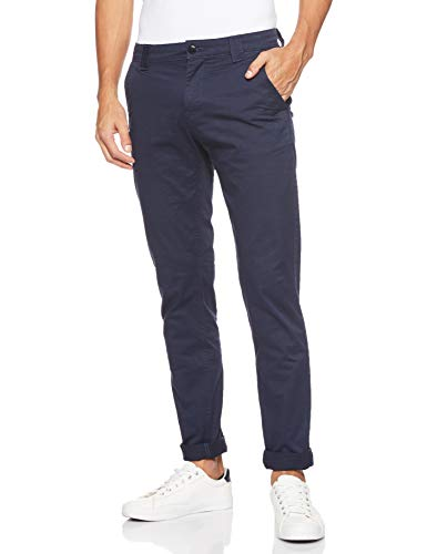 Tommy Jeans Herren Tjm Scanton Chino Pant Hose, Blau (Black Iris 002), W33/L34