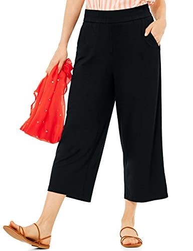 Cecil Damen Culotte 34 Hose, Black, XL/L22
