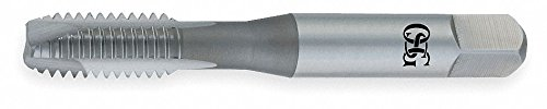 Spiral Point Tap, Plug, Bright, M10x1.0 by Osg