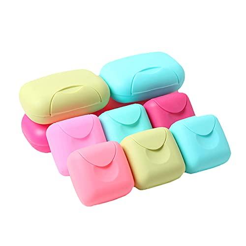 CXSMKP JabonerasSostenedor de jabón de Viaje Caja de jabón de Viaje de jabón de Viaje para baño/Camping/Gimnasio/Viaje de Negocios (1pcs)