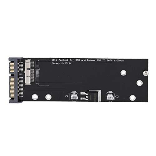SATA Riser Card 2.5inch Riser Card Light Adaptateur SSD Adaptateur de Fente SSD pour PC pour Ordinateur