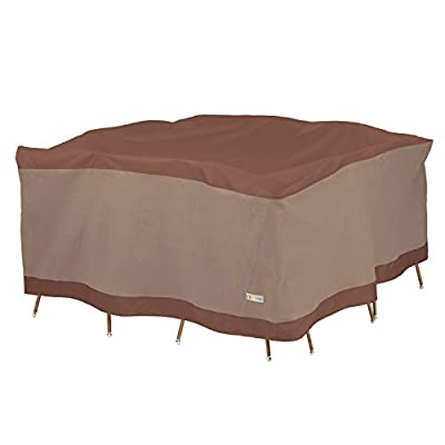 Duck Covers Ultimate Square Patio Table with Chairs Cover