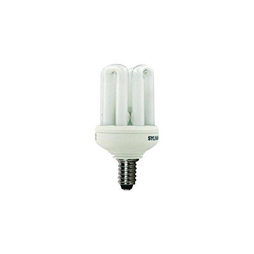 Energiesparlampe Aufschrauben E14–11W Licht Tag Sylvania