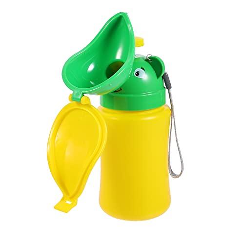 STOBOK Niños Orinal Inodoro Orinal Niños al aire libre Urinario de Emergencia Inodoro Niño Viaje Orinar Botella a prueba de fugas Estilo Princesa Envase de