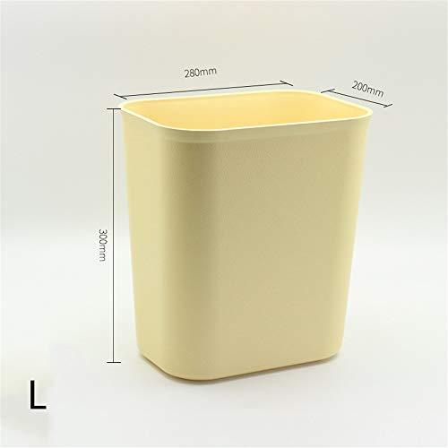 HoGau Cucina Maison Robuuste wasmand voor slaapkamer, woonkamer, slaapkamer, keuken, vuurvast, van kunststof, zonder afdekking