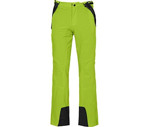 Bergson Herren Skihose Flex Light, Lime Green [242], 60 - Herren