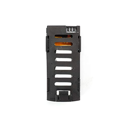 Luccase Drohen Ersatzbatterie 3,7 V 500 mAh Lipo Batterie Hohe Kapazität mit Überladeschutz Funktion Teile Kompatibel mit LF602 / 606 RC Drohne