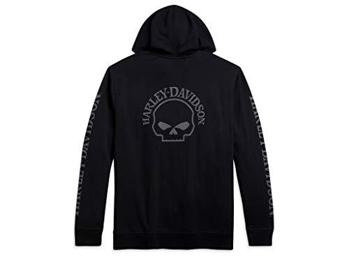 HARLEY-DAVIDSON Skull Hoodie, M