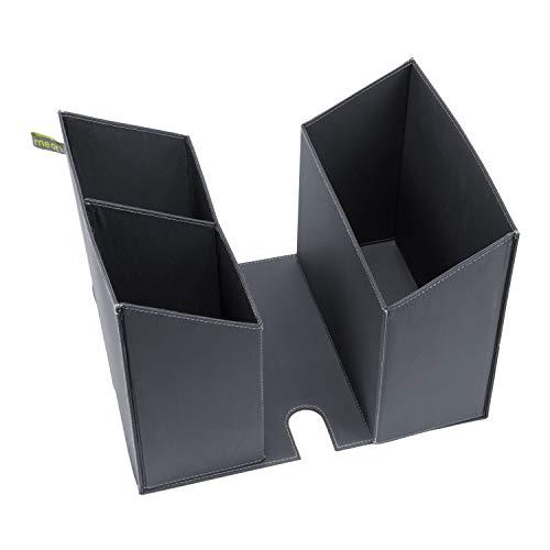 Faltbarer Schreibtischeinsatz für Faltboxen Small+Large Dunkel Grau 30x24x21cm Schrank Arbeitsplatz Home Office